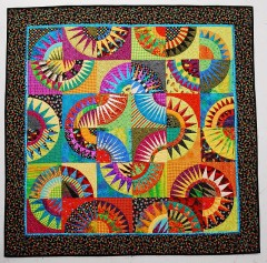 Summer Sizzler, Pattern by Karen Stone [See, I can do brights]