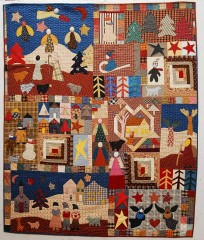 Snowbound, pattern by Red Wagon