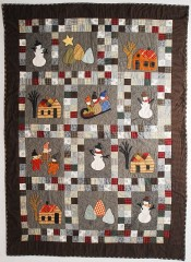 Winter Quilt, pattern by Red Wagon