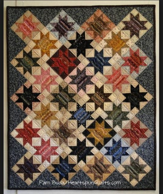 sawtooth-star-quilt